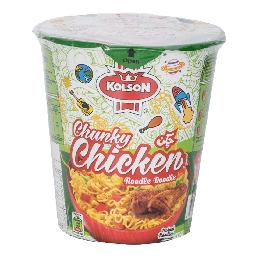 Alfatah pasta & noddle Kolson Cup Noodles Chunky Chicken 50 gm