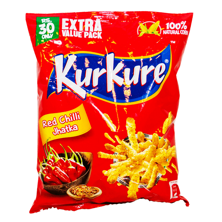 Alfatah SNACKS Kurkure Red Chilli Jhatka 65 gm