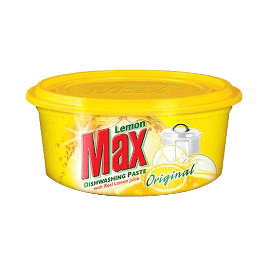 Alfatah KITCHEN ITEMS Lemon Max Dishwash Paste Yellow 200 gm