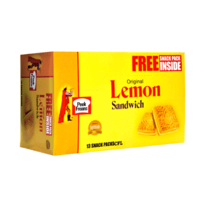 PMART.PK-PAKISTAN MART- ONLINE GROCERY STORE SNACKS Lemon Sandwich Snack Packs  Box New