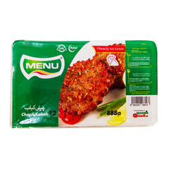 Alfatah FROZEN FOOD Menu Chapli Kabab 888 gm