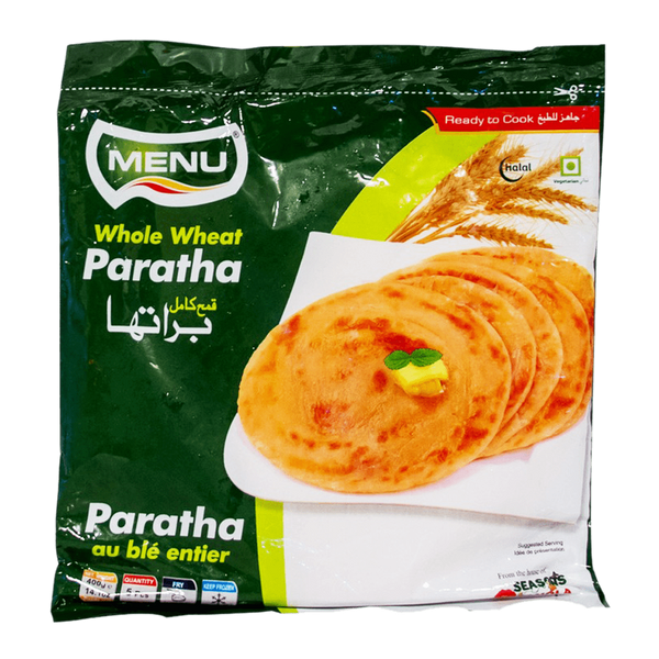 Alfatah FROZEN FOOD Menu Whole Wheat Paratha 5 Pcs 400 gm