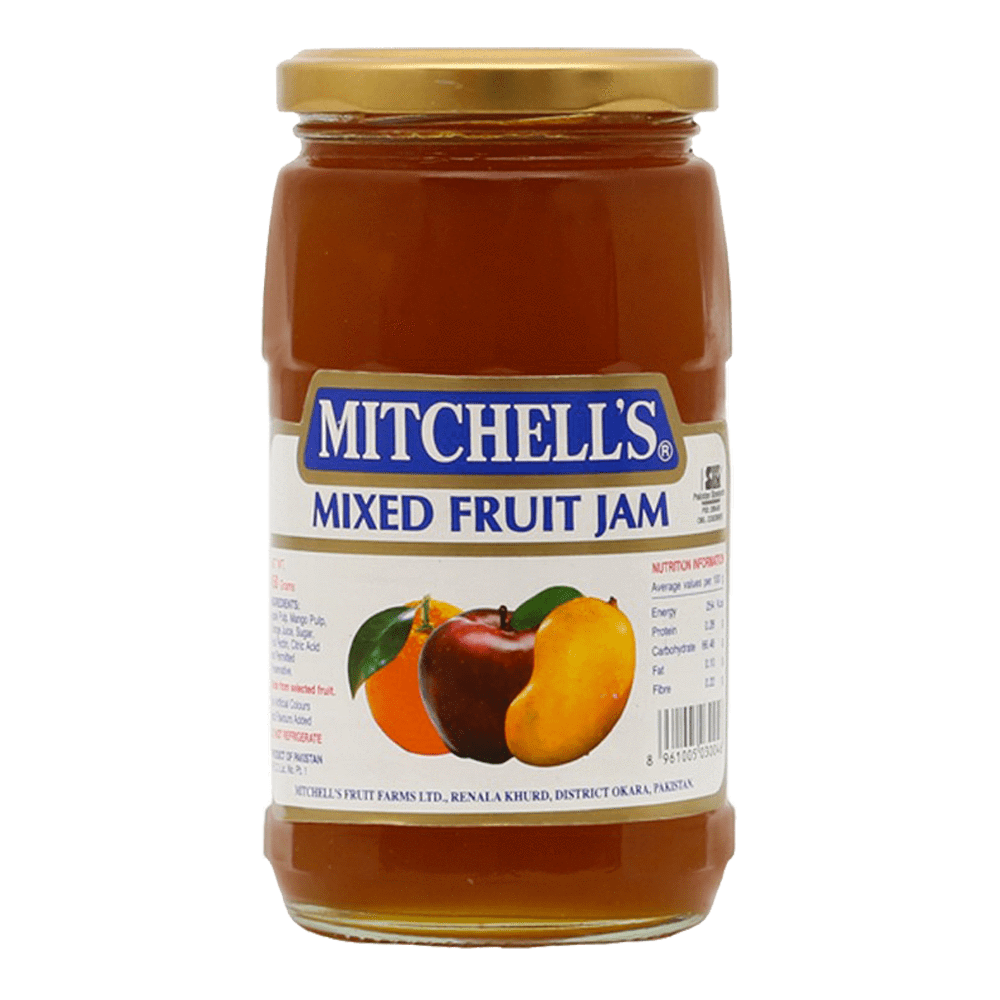 Alfatah JAM & PICKLE Mitchells Jam Fruit Mixed 450 gm