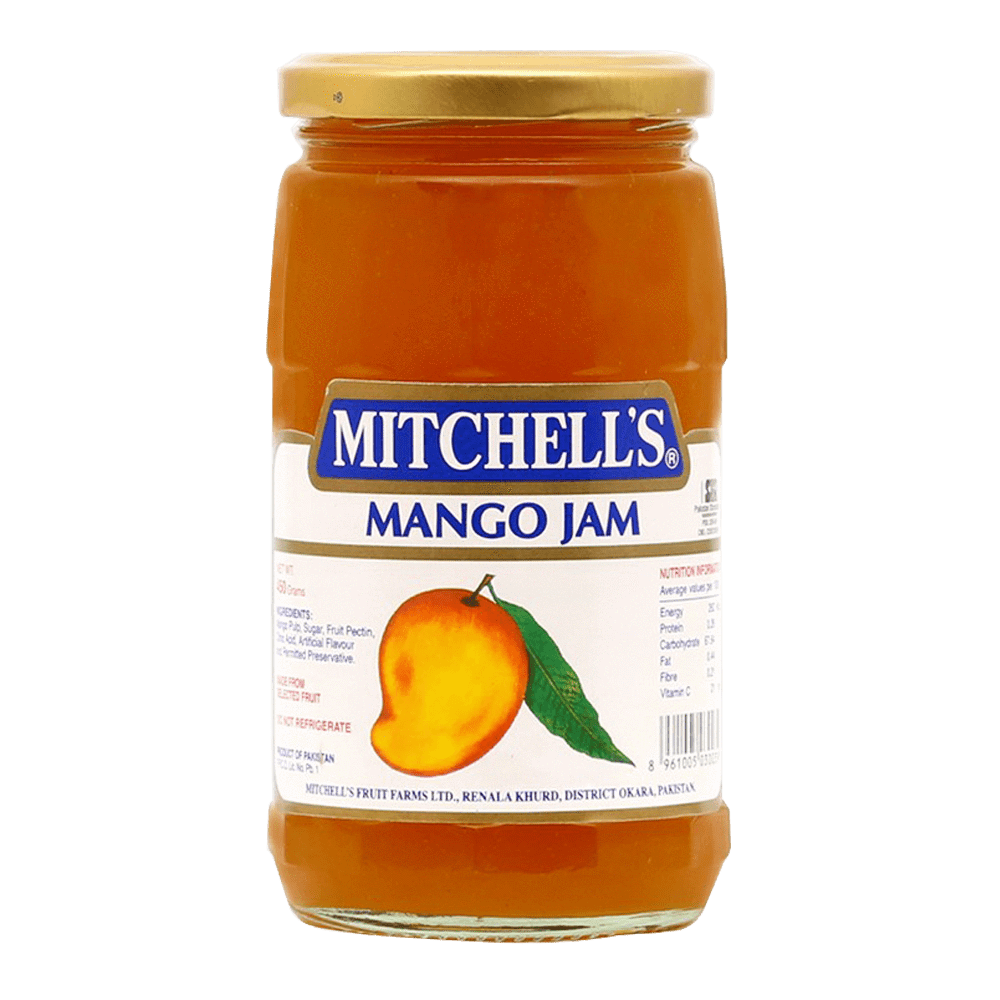 Alfatah JAM & PICKLE Mitchells Jam Mango 450 gm