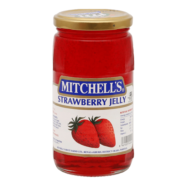 Alfatah BAKERY ITEMS, JAM & PICKLE Mitchells Jelly Strawberry 450 gm