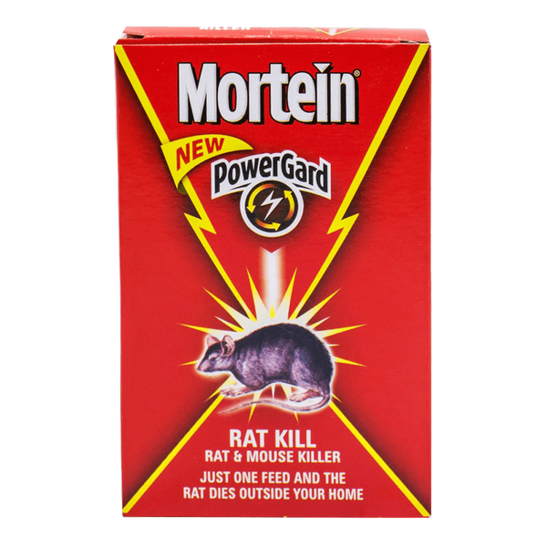 Alfatah Household Essentials Mortein Power gard Rat And Mouse Killer