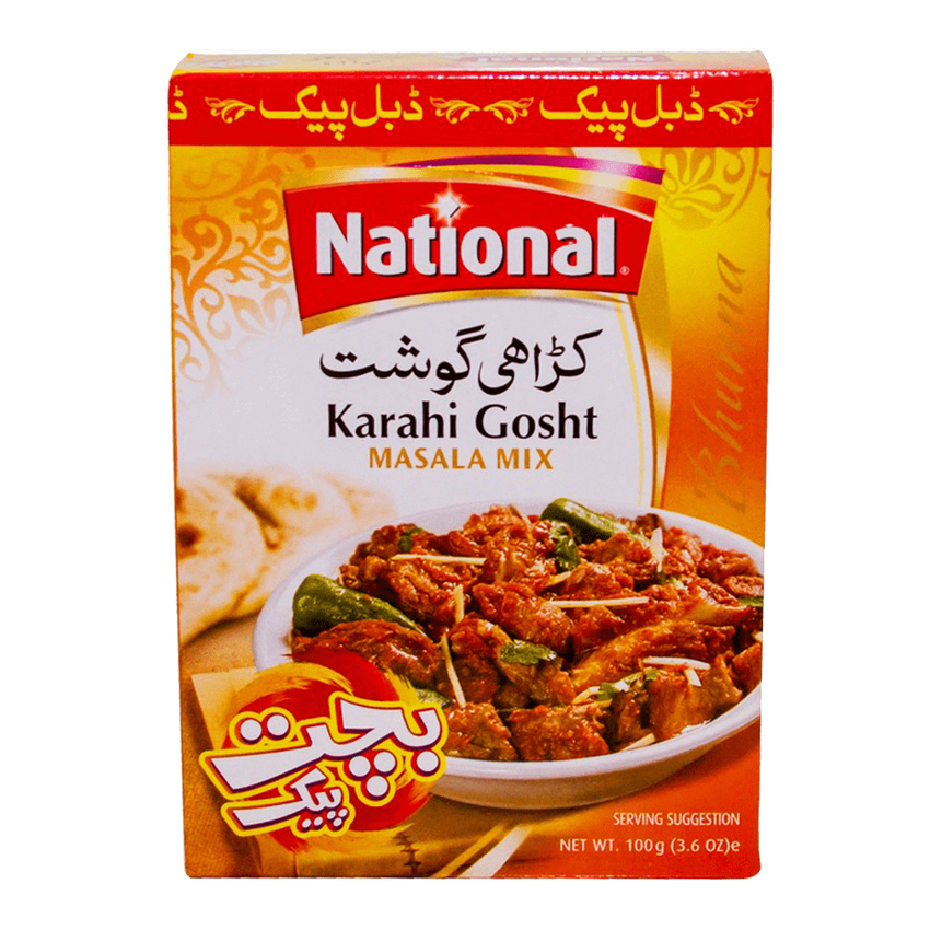 Alfatah Spices & Herbs National Masala Karahi Gosht Double Pack 100 gm