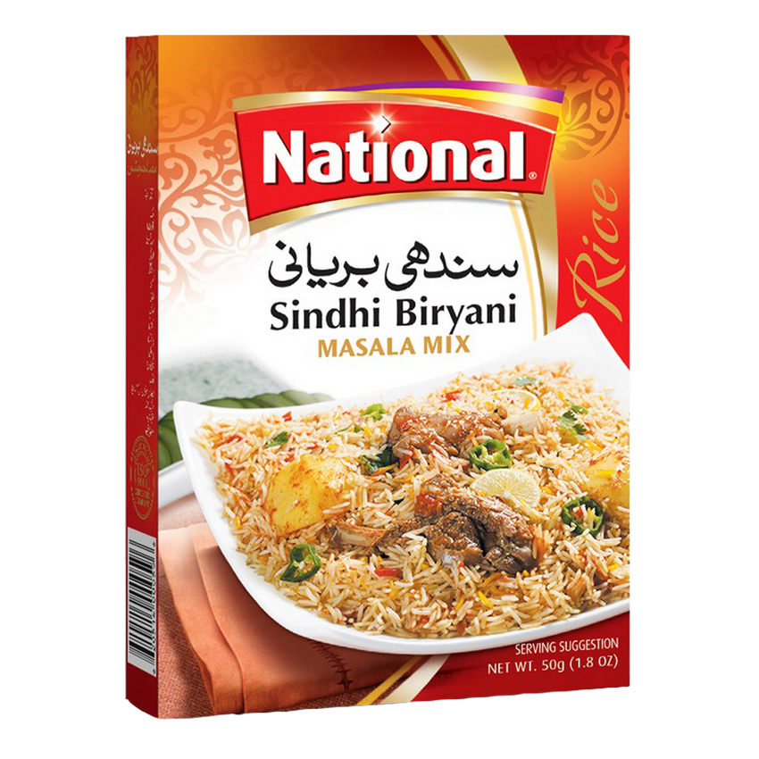 Alfatah Spices & Herbs National Masala Sindhi Biryani Mix 50 gm