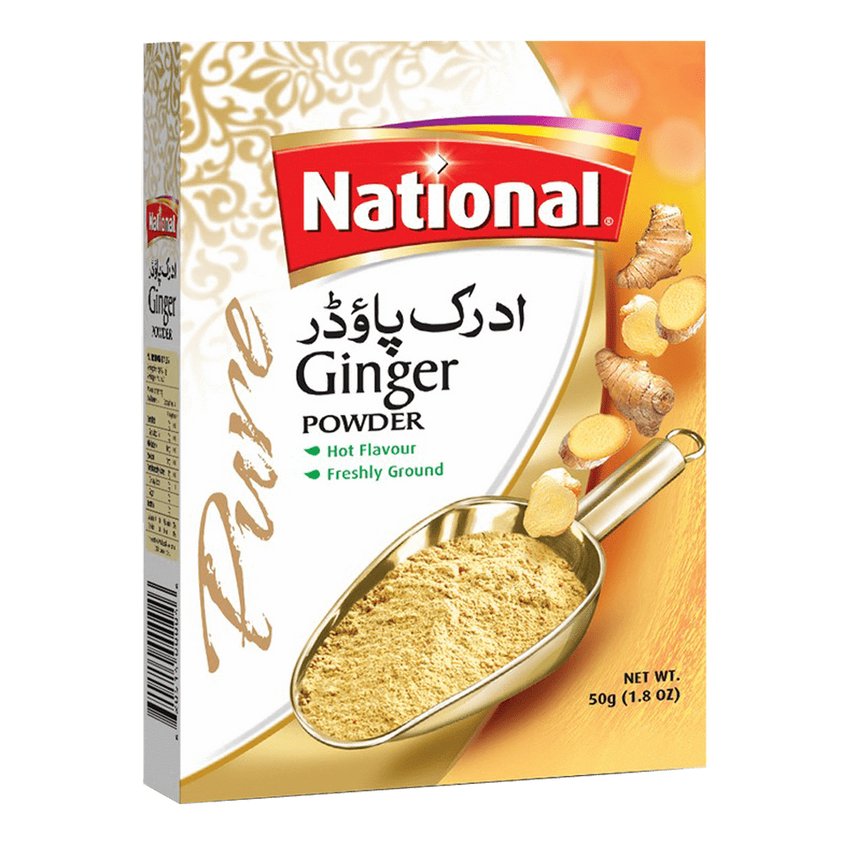 Alfatah Spices & Herbs National Powder Ginger 50 gm