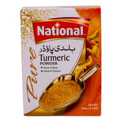 Alfatah Spices & Herbs National Powder Turmeric 100 gm