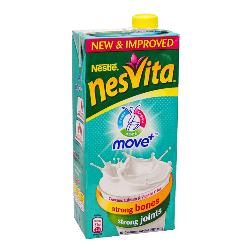 Alfatah DRINKS Nestle Nesvita Milk Move Plus Strong Bones 1    ltr