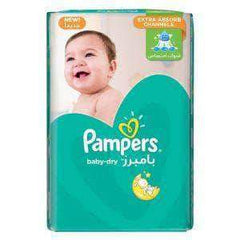 PMART.PK-PAKISTAN MART- ONLINE GROCERY STORE Baby Items Pampers Baby Dry Mini (Size 2) (3 - 8 kg) 40Pcs