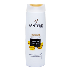 Alfatah BATH ITEMS Pantene Shampoo Deep Black 400 ml
