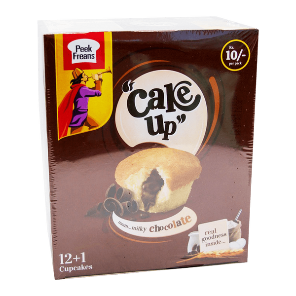 Alfatah BISCUITS Peek Freans Cake Up Cupcakes Milky Chocolate 12 Pc Box