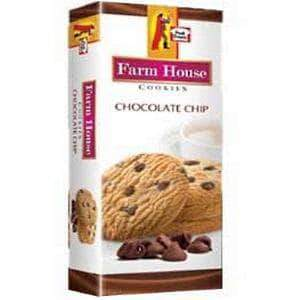 PMART.PK-PAKISTAN MART- ONLINE GROCERY STORE SNACKS Peek Freans Farm House Cookies Chocolate Chip Half Roll Box