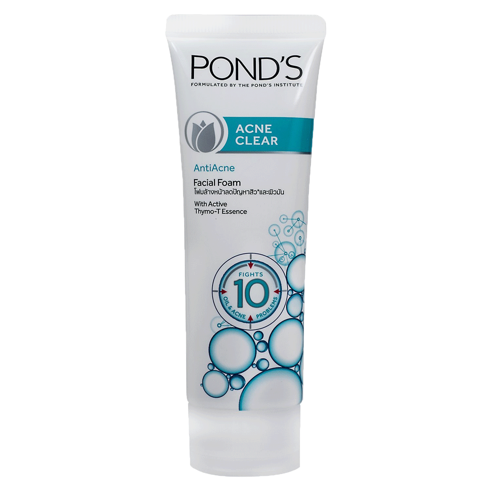 Alfatah cosmetic Ponds Facial Foam Acne Clear 100 gm