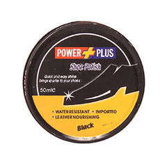 PMART.PK-PAKISTAN MART- ONLINE GROCERY STORE CLEANING Power Plus Polish Black 50ml