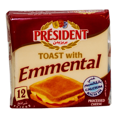 Alfatah DAIRY President Cheese Toast With Emmental 12 Slices 200 gm