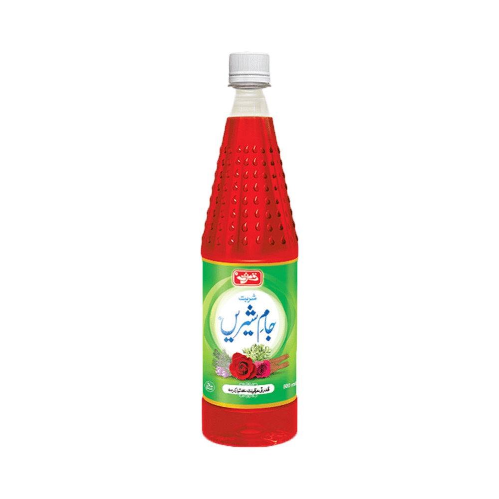 Alfatah JAM & PICKLE Qarshi Jam e Shirin Sharbat 800 ml