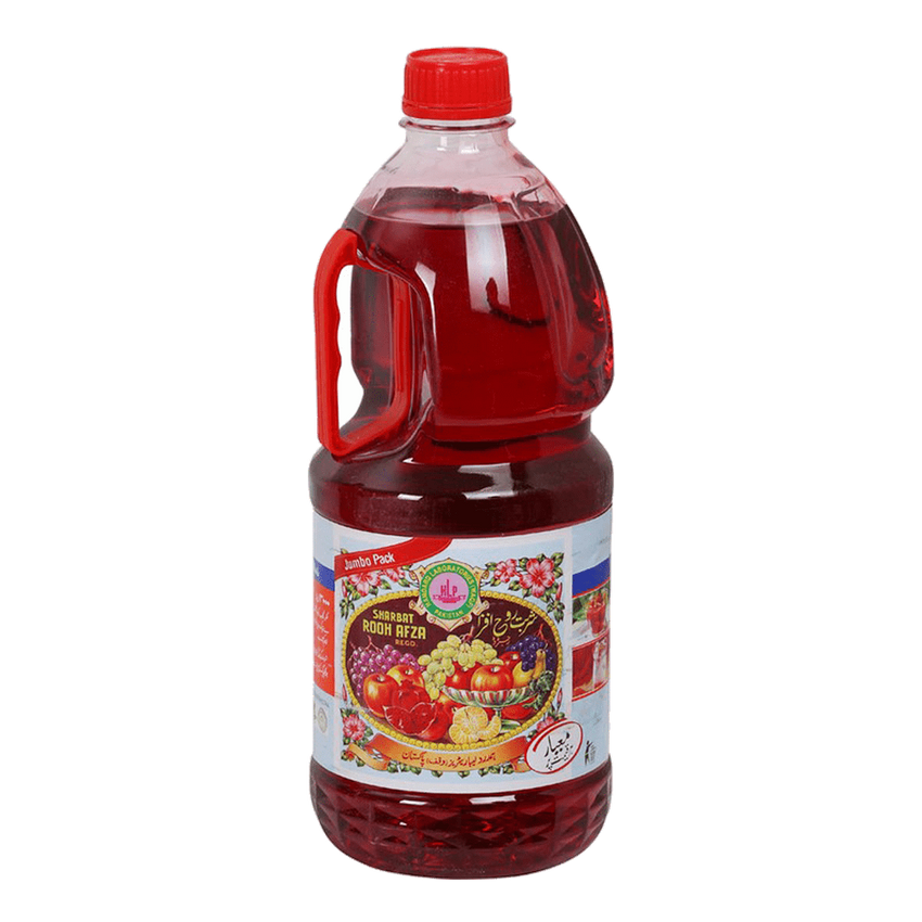 Alfatah DRINKS Rooh Afza Jumbo Size Bottle 3 ltr