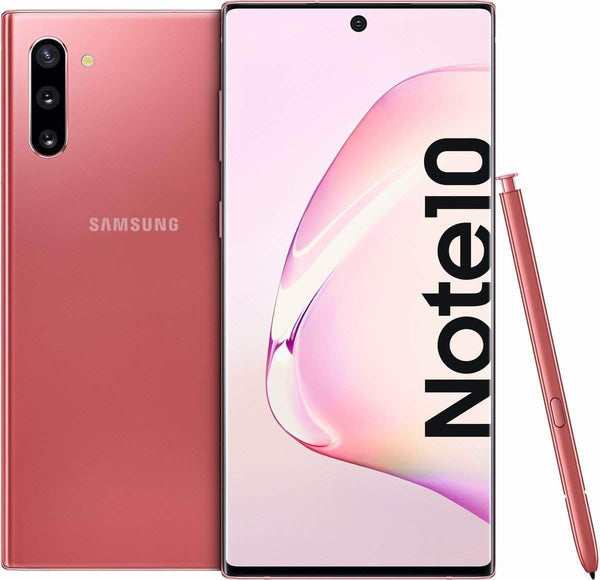 Samsung Mobile Phone Samsung Galaxy Note 10 Dual Sim (4G, 8GB RAM, 256GB ROM) With Official Warranty