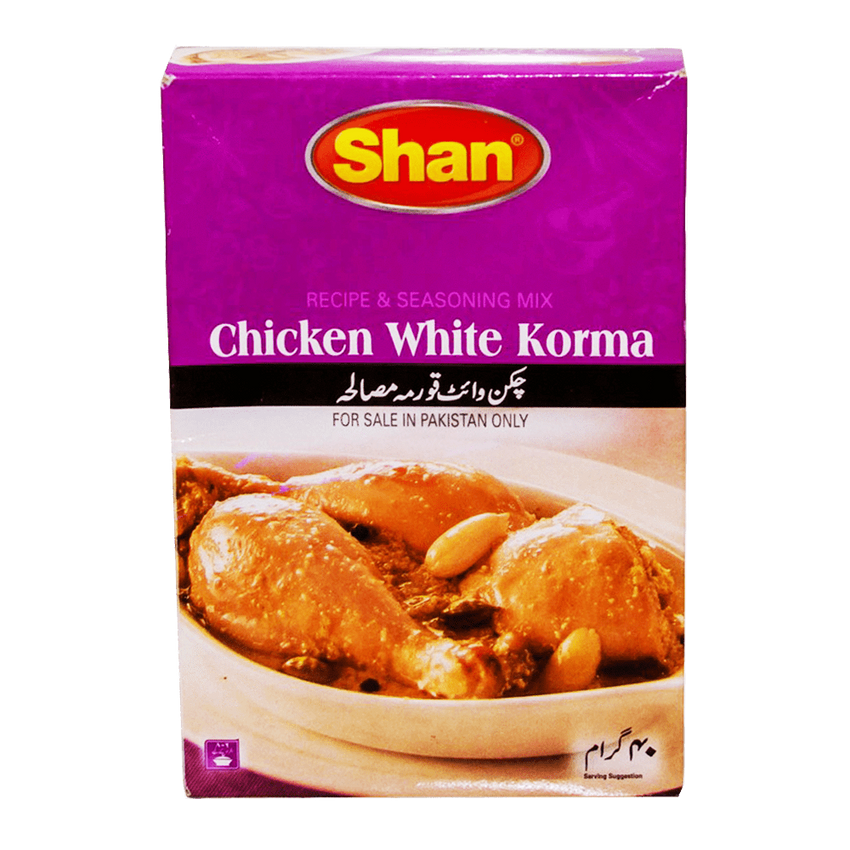 Alfatah Spices & Herbs Shan Masala Chicken White Korma 40 gm