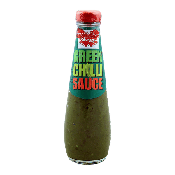 Alfatah Spices & Herbs Shezan Green Chilli Sauce  Bottle 300 gm