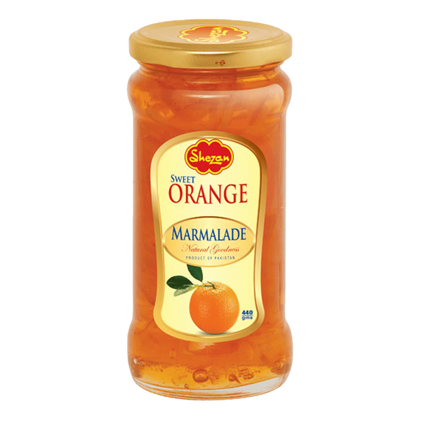 Alfatah JAM & PICKLE Shezan Jam Sweet Orange Marmalade 440 gm