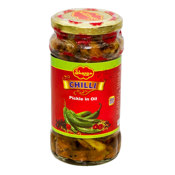 Alfatah JAM & PICKLE Shezan Pickle Chilli In Oil 300 gm