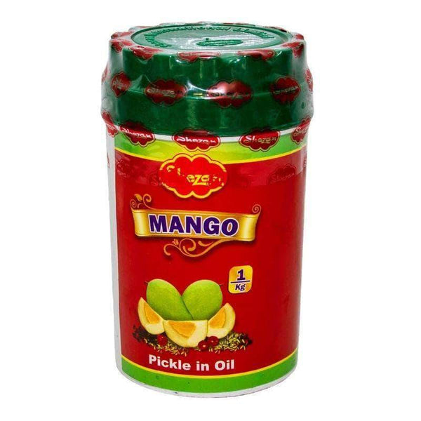 Alfatah JAM & PICKLE Shezan Pickle Mango In Oil 1 kg