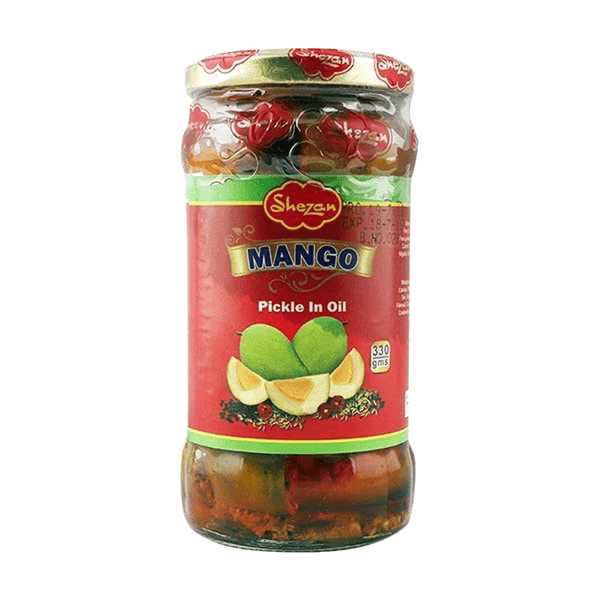 Alfatah JAM & PICKLE Shezan Pickle Mango In Oil 300 gm