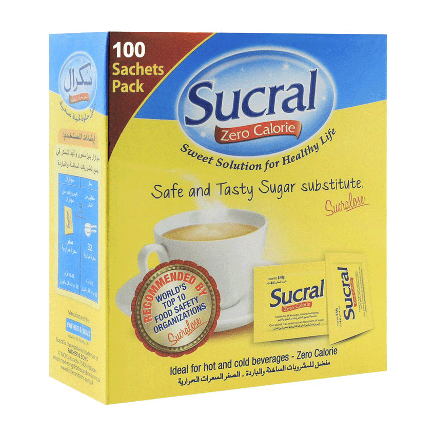 Alfatah Spices & Herbs Sucral Zero Calorie 100 Tablets 5.5 gm