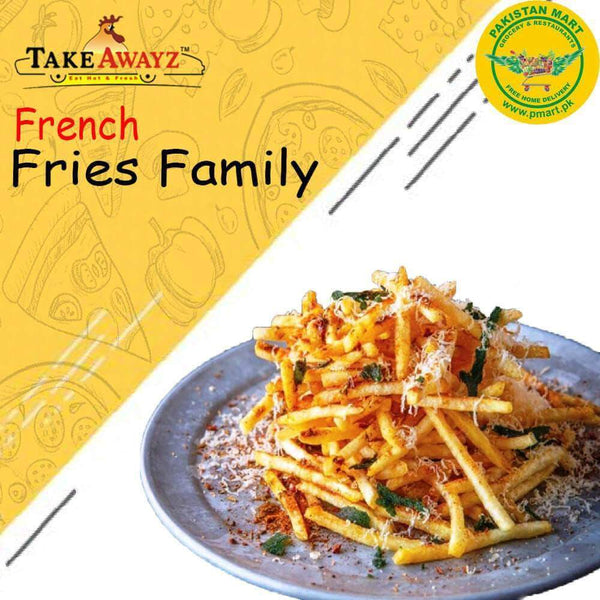 Take Awayz Take Awayz (Take Awayz) - French Fries Family Size