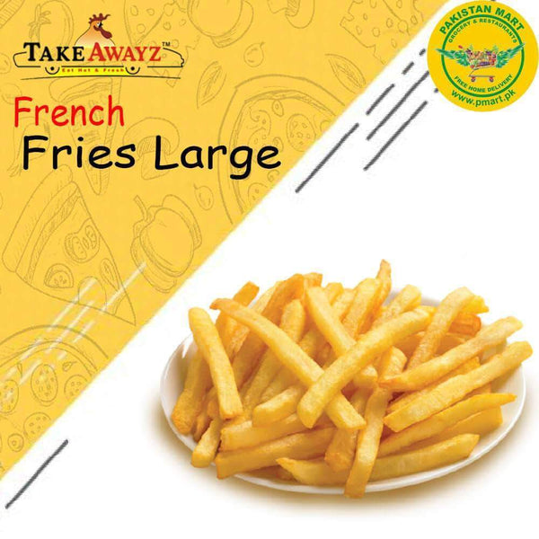 Take Awayz Take Awayz (Take Awayz) - French Fries Large