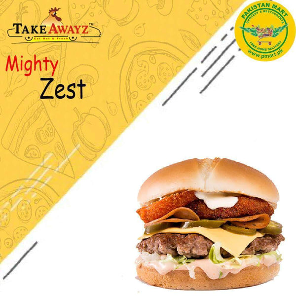 Take Awayz Take Awayz (Take Awayz) - Might Zest Burger