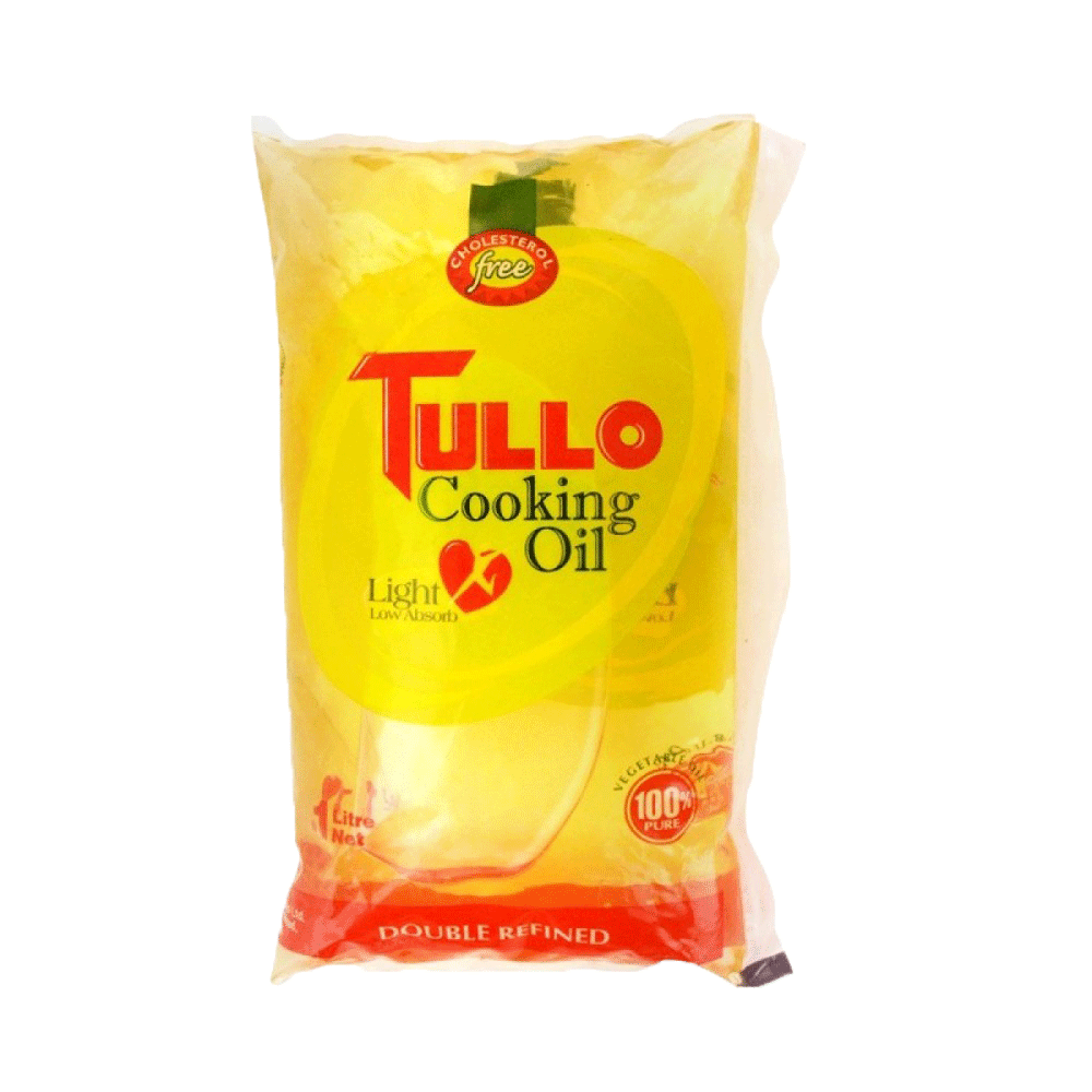 Alfatah COOKING OIL Tullo Cooking Oil Pouch 1 ltr
