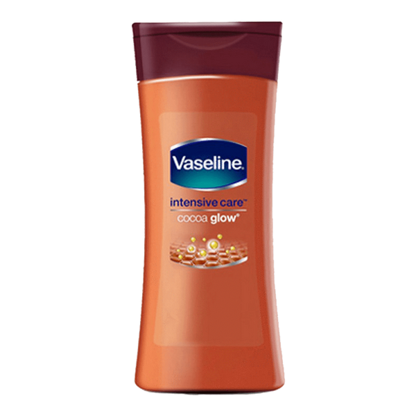 Alfatah Household Essentials Vaseline Lotion Intensive Care Cocoa Glow 100 ml
