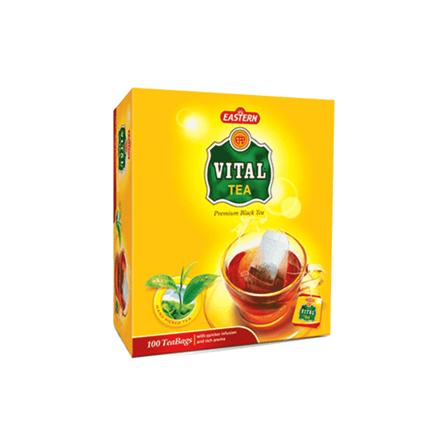 Alfatah TEA & COFFEE Vital Eastern Tea 100 Bags 200 gm