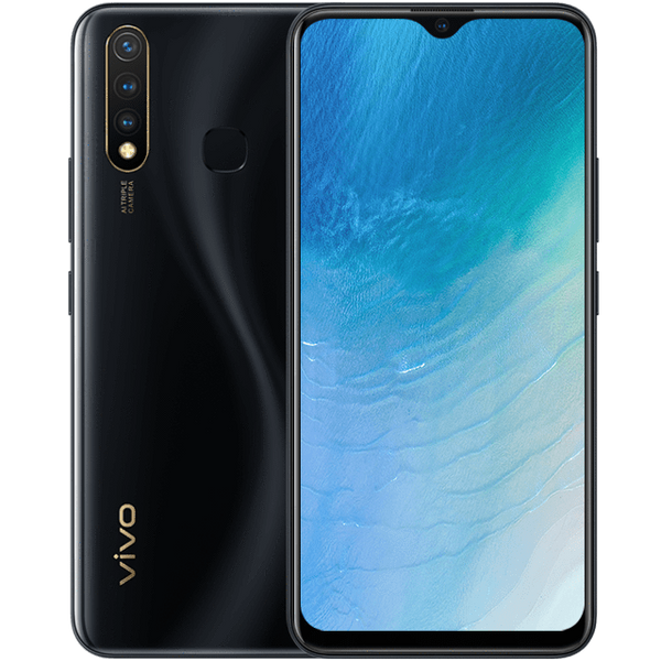 Vivo Mobile Phone Vivo Y19 Dual Sim (4G, 4GB, 128GB, Magnetic Black) With Official Warranty