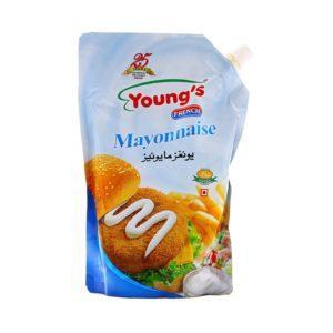 PMART.PK-PAKISTAN MART- ONLINE GROCERY STORE JAM & PICKLE Youngs Mayo Pouch 500ml