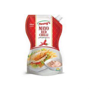 PMART.PK-PAKISTAN MART- ONLINE GROCERY STORE BAKERY ITEMS, JAM & PICKLE Youngs Mayo Red Chilli 200ml