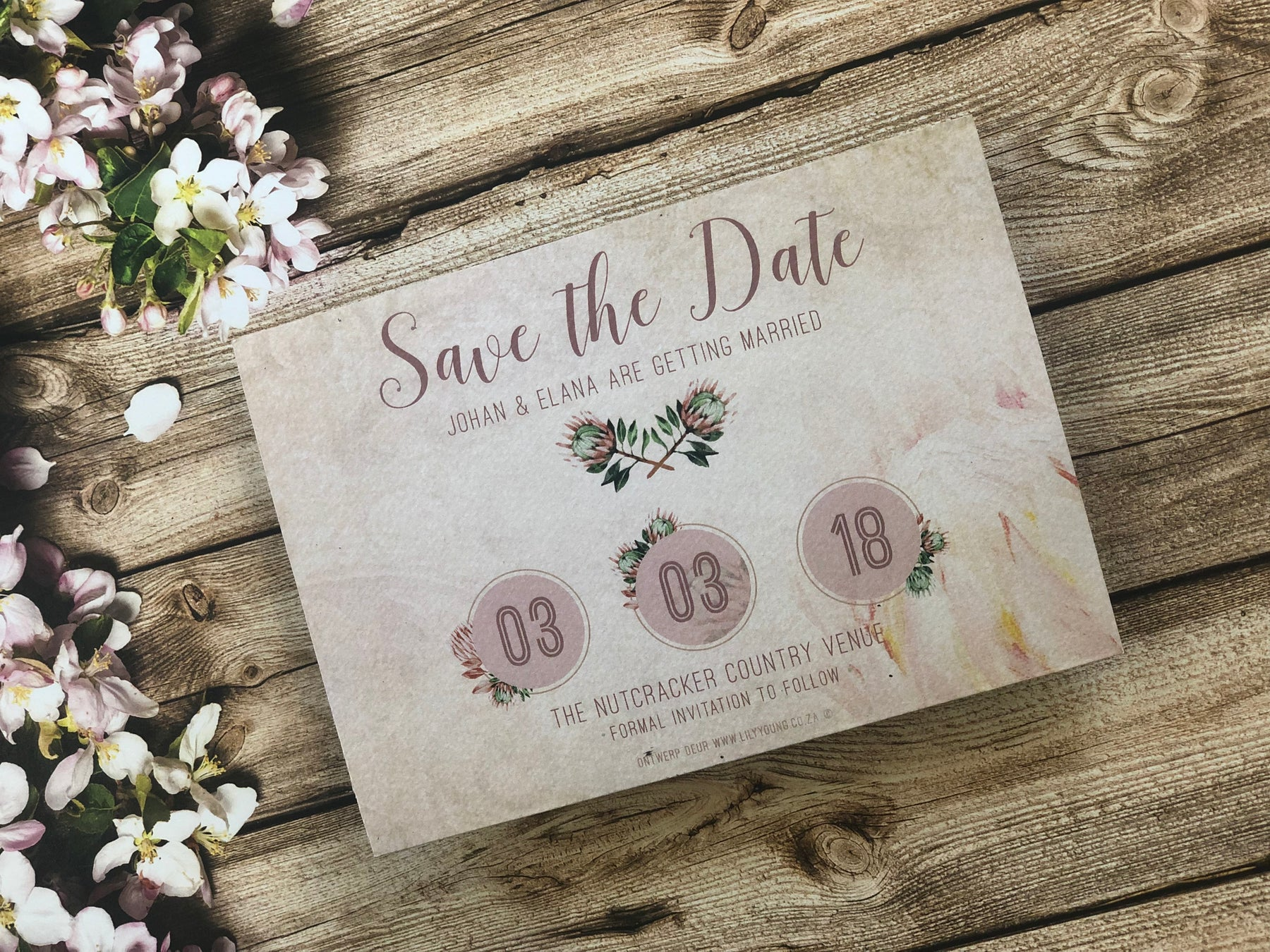 All Save the dates