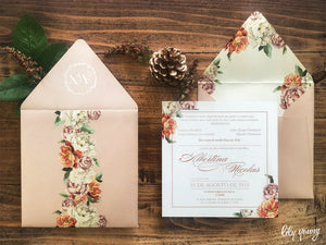 Albertina Printed invite