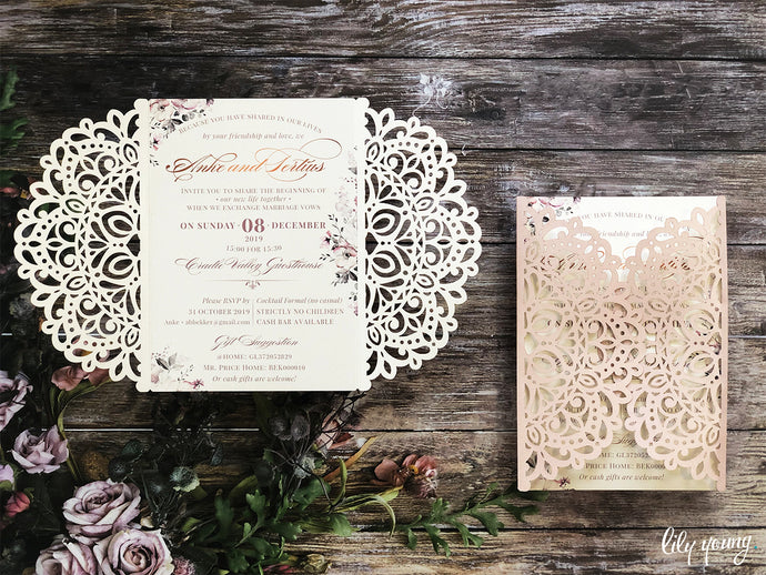 Anke Printed invite