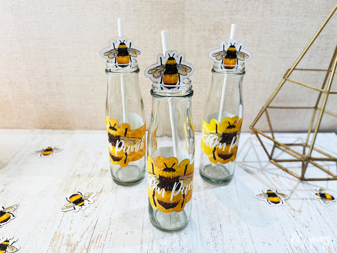 Bee Labels set - Pack of 12