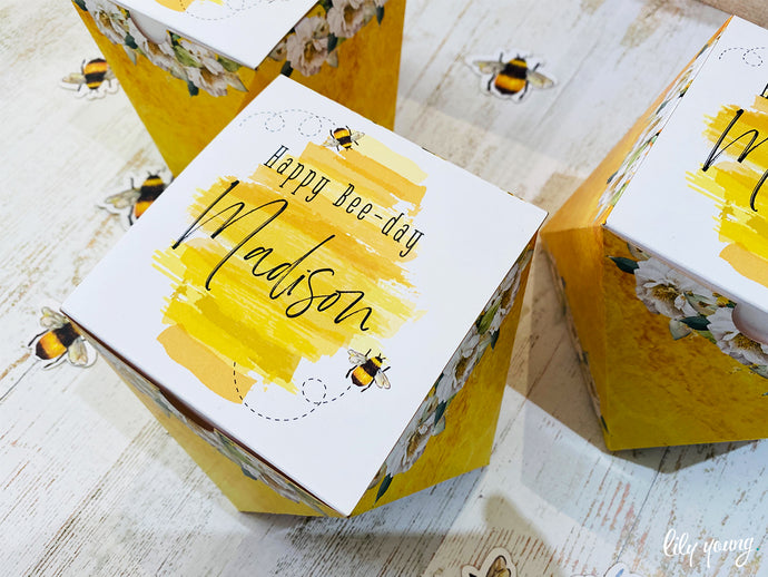Bee Party Box - Pack of 12
