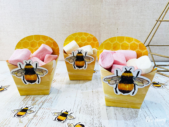 Bee Snack Bowls - Pack of 12
