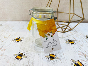 Bee Thank you tags - Pack of 12