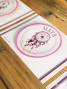 Boho Underplate & Plate sticker - Pack of 12