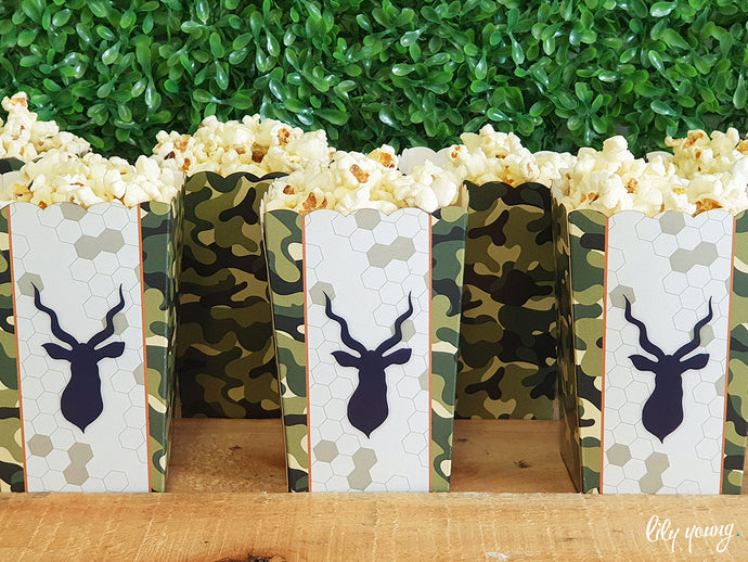 Popcorn Popcorn Box - Pack of 12